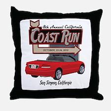 8th Annual CCR Sebring Mercha Throw Pillow