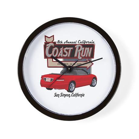 8th Annual CCR Sebring Mercha Wall Clock