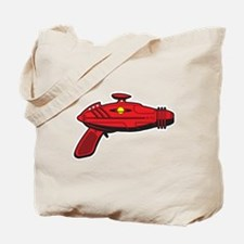 Red Ray Gun Tote Bag