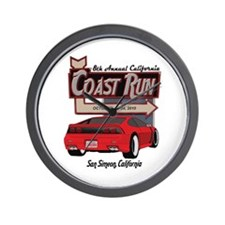8th Annual California Coast R Wall Clock