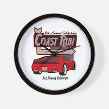 8th Annual California Coast R Wall Clock