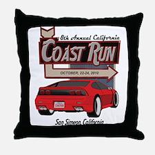 8th Annual California Coast R Throw Pillow