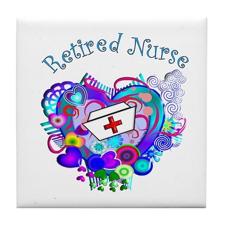 Retired Nurse Tile Coaster