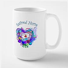 Retired Nurse Large Mug