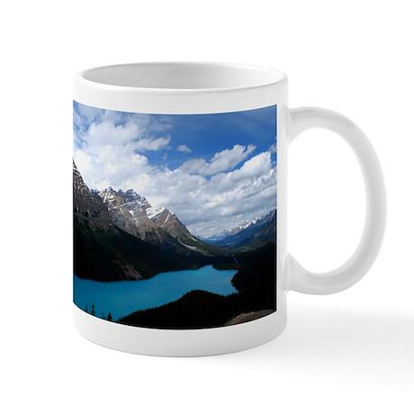 Brilliant Blue Lake Mug
