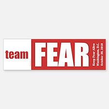 Team Fear Bumper Bumper Sticker