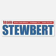 Team Stewbert Bumper Bumper Sticker