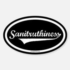 Sanitruthiness Decal