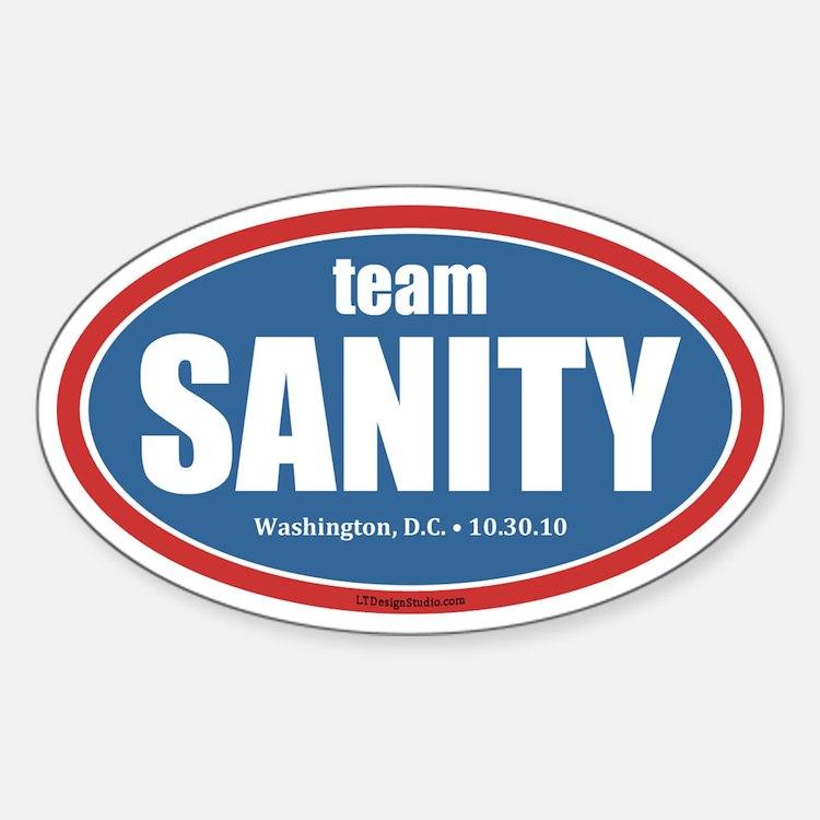 Team Sanity Decal