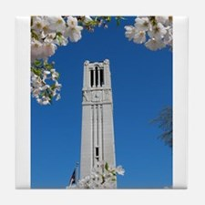 Spring Bell Tower Tile Coaster