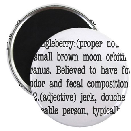 """WHAT IS A DINGLEBERRY? 2.25"""" Magnet (10 pack)"""