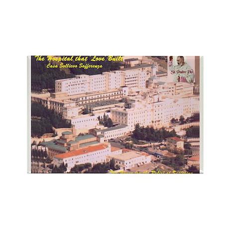 St. Pio La Case HospitalRectangle Magnet (10 pack)