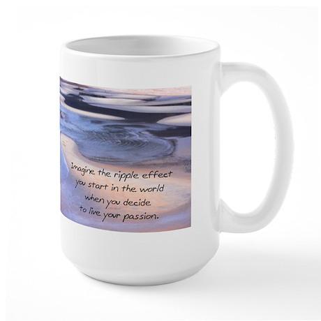 Live your passion Large Mug