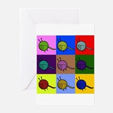 Cute Knitter Greeting Cards (Pk of 10)