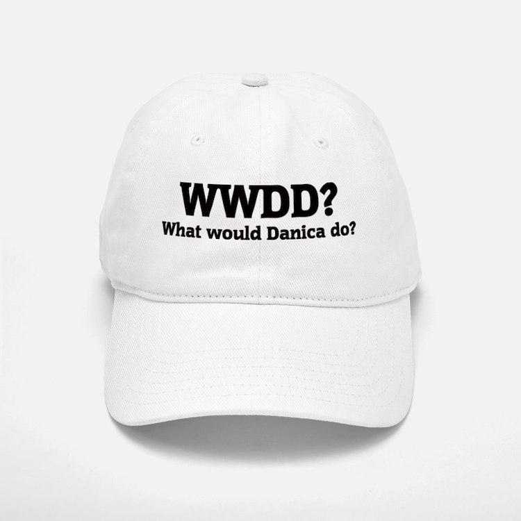 What would Danica do? Baseball Baseball Cap