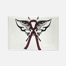 Tribal Butterfly Rectangle Magnet