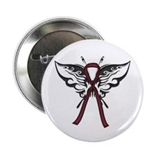 """Tribal Butterfly 2.25"""" Button (10 pack)"""