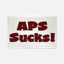 APS Sucks! Rectangle Magnet