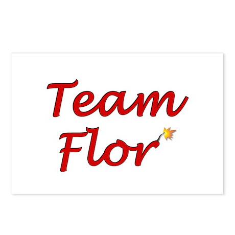 Team Flor Postcards (Package of 8)