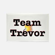 Team Trevor Rectangle Magnet