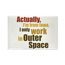 I'm From Iowa Rectangle Magnet (10 pack)