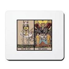 Tarot Card Love Spell Mousepad