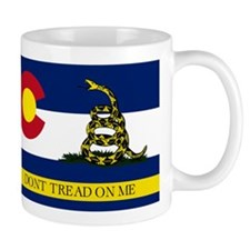 Dont Tread on Me Colorado Mug