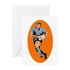 Rugby 2 Greeting Card