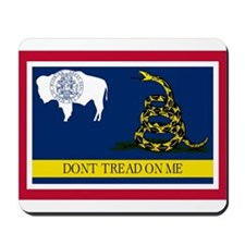 Dont Tread on Me Wyoming Flag Mousepad