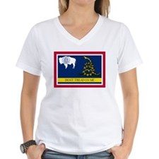 Dont Tread on Me Wyoming Flag Shirt
