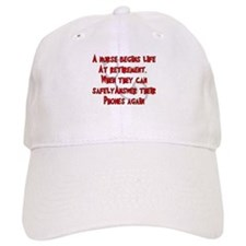 Retired Nurse Baseball Baseball Cap