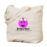 Retired nurse Canvas Totes