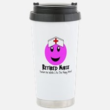 Retired Nurse Travel Mug