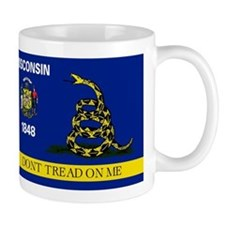 Dont Tread on Me Wisconsin Mug