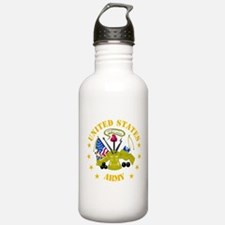 Embelm - US Army - Center Water Bottle