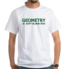 Geometry White T-shirt