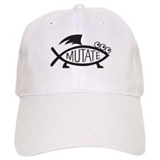 Mutate Fish Baseball Baseball Cap