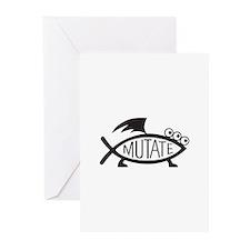 Mutate Fish Greeting Cards (Pk of 20)