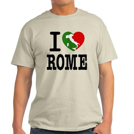 I Love Rome Light T-Shirt