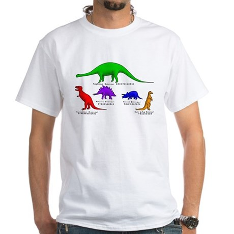 Colored Dinos T-Shirt