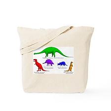 Unique Stegosaurus Tote Bag