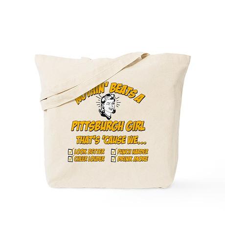 Pittsburgh Girl Tote Bag