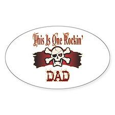 Rockin Dad Decal