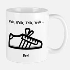 Walk, Talk, Eat Mug