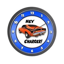 Aussie Charger - Hey, Charger! Wall Clock