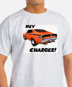 Aussie Charger - Hey, Charger! T-Shirt