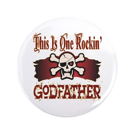 "Rockin Godfather 3.5"" Button (100 pack)"