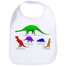 Funny Tyrannosaurus rex Bib