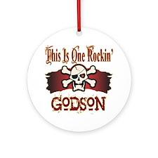 Rockin Godson Ornament (Round)