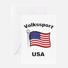 Volkssport USA Greeting Card